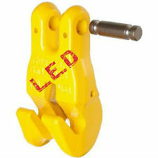 NEW industrial lifting equipment 8mm G80 Clevis Claw Hooks