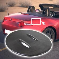 For Mazda MX-5 Miata Carbon 16-17 Outside Fuel Cap Fin Trim Cover RF GS GT GX