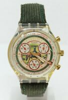 Orologio Swatch chrono SCK405 watch vintage swatch clock chronograph montre
