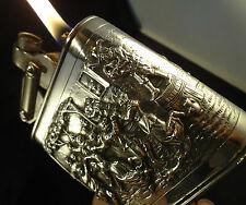 KW - Karl Wieden TABLE Lighter  -  Solid .833 Silver - Feuerzeug/Briquet