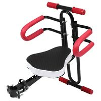Electric Bicycle Child Baby Chair Bike Front Safety Release Saddle Seat withU5B8