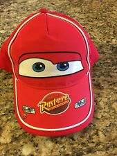 Lightning McQueen Rust-eze Cars Rusteze Boys and Girls Baseball Cap (solid red)