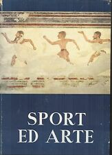 Sport ed Arte -- Published for the 1960 Rome Olympics -- sports art