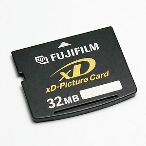 FUJIFILM 32MB xD-Picture Card, XD Card 32MB For Olympus & Fujifilm Old Cameras