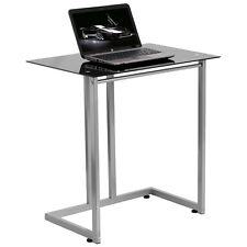 Flash Furniture Black Tempered Glass Computer Desk Nan-2905-Gg New