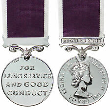 British Medal LONG SERVICE AND GOOD CONDUCT Full Size ARMY LS GCM UK Made Award