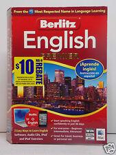 BERLITS ENGLISH PREMIER LANGUAGE LEARNING SOFTWARE speaking english in 30 days