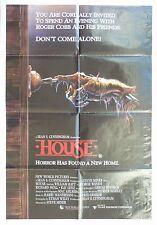 HOUSE ORIGINAL CINEMA RELEASE 1 SHEET MOVIE POSTER