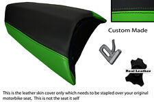 BLACK & LIGHT GREEN CUSTOM FITS PEUGEOT JETFORCE 50 125 REAR SEAT COVER
