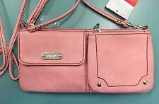 RELIC Evie Wristlet Wallet Removable Shoulder Strap ROSE DUST New!