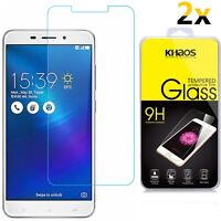 [2-Pack] KHAOS For Asus ZenFone 3 Laser ZC551KL Tempered Glass Screen Protector
