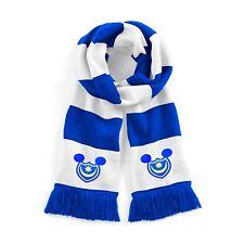 Portsmouth DISNEY Michael Eisner Tradizionale Sciarpa Calcio Logo Ricamato