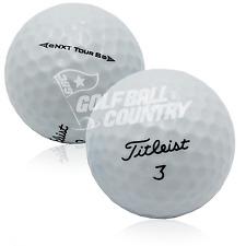 24 Titleist NXT Tour S Near Mint AAAA Used Golf Balls - FREE Shipping