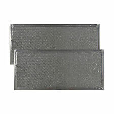 WHIRLPOOL 6802A COMPATIBLE GREASE MESH MICROWAVE FILTER NON-OEM (2 Pack)-AFF82-M