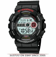 Casio GD-100-1AER Casio G-Shock Watch│Resin Case Band│World Time│200M WR│Black│