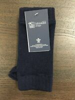 100% Cashmere Wrist Warmers  | Johnstons of Elgin | Made in Scotland | Navy