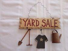 YARD SALE Decorative Hanging PLAQUE SIGN