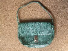 Small Accessorize green and black handbag