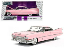 1959 Cadillac Coupe DeVille Diecast Car 1:24 Jada Toys 8 inch Pink