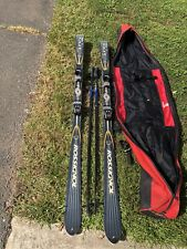 ROSSIGNOL SKIS W/Bindings, Ski Poles, Travel Bag