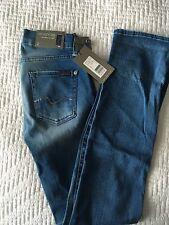 "7 For All Mankind Women's Jeans Original Brand New Size 25"" Swarovski Crystals"