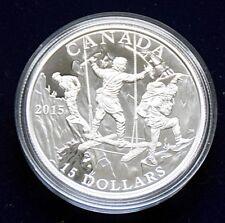 "CANADA 15 Dollar 2015 ""Exploring Canada"" Silber polierte Platte"