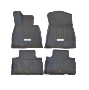 OE 18-20 Genesis G80 AWD All Weather Floor Mats Liners FRONT & REAR (B1F13AU100)