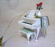 "HALLMARK KEEPSAKE ""Holiday Serenade"" PIANO ORNAMET MUSIC ""Fur Elise"" MINT"