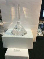 """Marquis Waterford Crystal Perfume Bottle 3 1/2"""" x 2 3/4"""" with 4"""" stopper"""