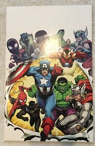 Marvel Legacy #1 Virgin Fanexpo Megacon Exclusive Signed by Ed McGuinness NM+