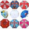 Kids Disney & TV Character School Rain Brolly Umbrella Brand New Gift