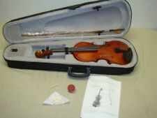 4/4 STUDENT VIOLIN WITH CASE, BOW, AND ROSIN - READ!