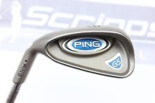 LH PING G5 Black Dot Single 6 Iron Golf Club PING True Temper R-Flex
