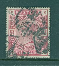 Great Britain 1884 5sh  Carmine Scott #108 XF Jumbo Sound Stamp Cat $250.00