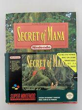 Secret of Mana + Guide  - FRA  PAL - Super nintendo SNES