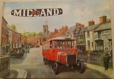Midland Red History of Company & Vehicles up to 1940 Vol. 1 Pub. TPC 1978