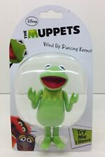 2012 DISNEY THE MUPPETS WIND-UP DANCING KERMIT THE FROG NEW IN BLISTER PACK