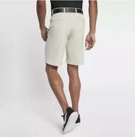 Nike Flex Hybrid Men's Standard Fit Golf Shorts 921753-072 Bone Light Khaki