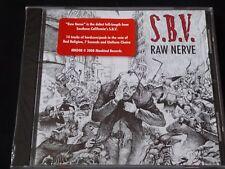 S.B.V. silencioso pero violentos-nervio Raw (CD NUEVO) en vena de Bad Religion 7 segundos