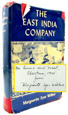 The East India Company - signed by Marguerite Eyer Wilbur Hardcover 1945 1st Ed
