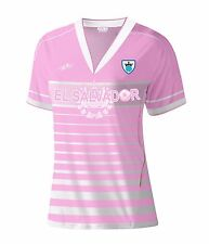 El Salvador Women Soccer Jersey New With out Tags Color Pink Size M