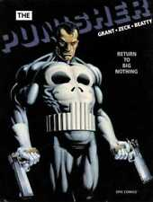 THE PUNISHER -- Return to Big Nothing (1989, Marvel) NM HC < S GRANT, MIKE ZECK