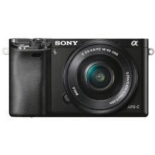 Sony Alpha a6000 Mirrorless Digital Camera  &16-50mm Lens (Black)+Sony E55-210