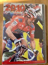 2010 Paris - Roubaix World Cycling Productions 2 Dvd set Fabian Cancellara