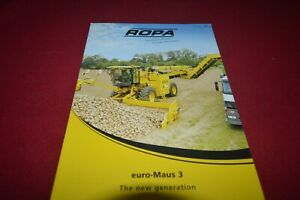 Ropa Sugar Beet Harvesters Brochure FCCA