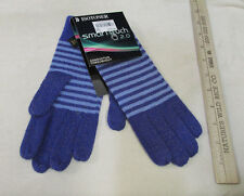 Isotoner Smart Touch 2.0 Purple Gloves Knit Conductive Throughout Phone Screens