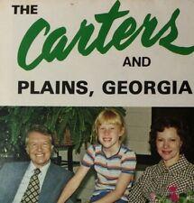 c1970s Jimmy Carter and Plains Georgia 13 Scene Unposted Postcard Folder Vtg