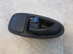 Saturn SL Sedan LH Rear Inner Door Handle Rear Drivers Side 00 01 02 Used OEM
