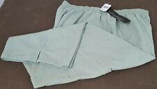 NWT Women's Jeno Neuman Sage Green Lightweight Pants POCKETS! Plus Size 24W