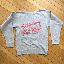 Vintage Womens Strasburg Railroad 1980s Gray Pink Sweatshirt